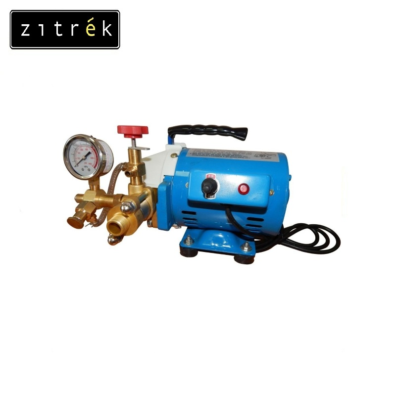 Electropressor Zitrek DSY-3-60 (3 l/min) Determination of tightness of pipelines Testing and filling the system with water system reliability assessment of corroded pipelines