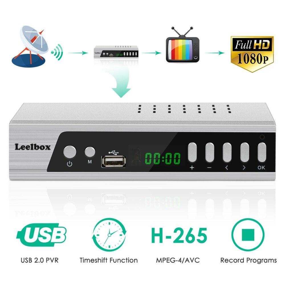Boîtier convertisseur numérique S3 ATSC récepteur TV Satellite TV analogique HD 1080 P HDTV décodeur enregistrement PVR TV USB lecture multimédia