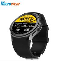 Microwear L1 Sports Smart Watch for Android IOS Heart Rate 2G Wifi Bluetooth Call 0.2MP Camera Sim Card