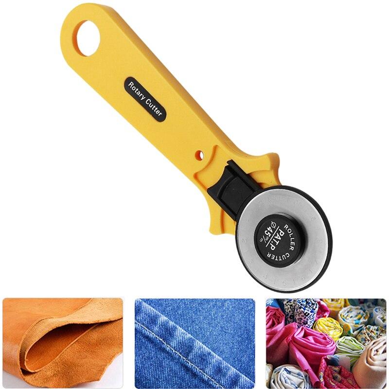 28/45 мм Высокое качество кожа ткань роторные резаки роликовые режущие инструменты с острыми лезвиями для войлочной ткани лоскутное кожевенн...