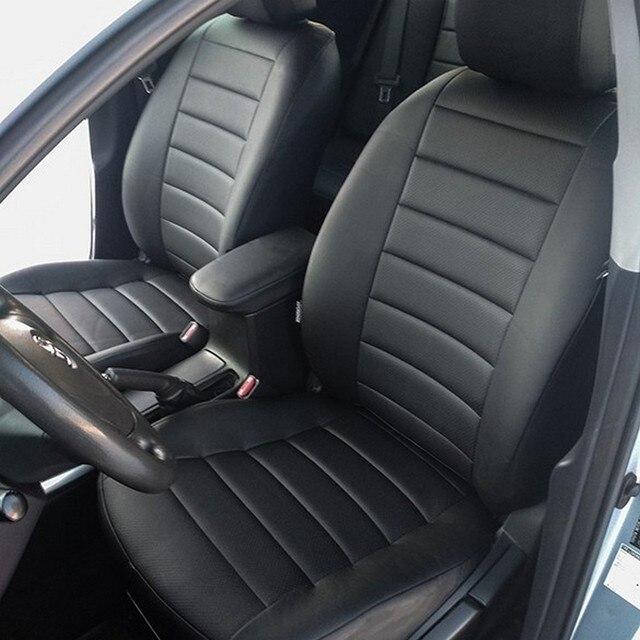 Для Защитные чехлы для сидений, сшитые специально для Toyota Corolla E150 2007-2013 специальные чехлы на сиденья полный набор система автоматического управления полётом из эко-кожи