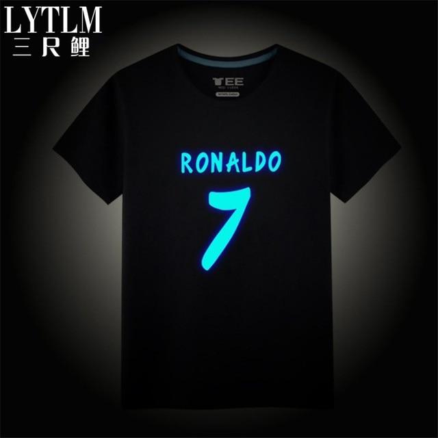 sale retailer 5dbfa 76719 US $10.99 |Aliexpress.com : Buy Ronaldo Shirt Kids Boys Cartoon T shirts  Children's Clothing Spring Boys T Shirt Kids Tops for Boy Summer Luminous  ...