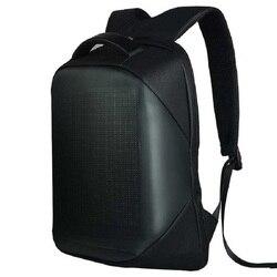 Led backpack with led panel 15,6 laptop Mancom 800