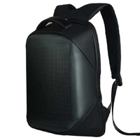 Led backpack with led panel 15,6 laptop Mancom 800