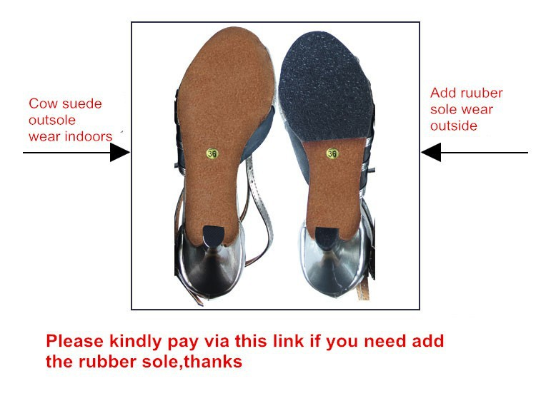 USD2 to add rubber sole