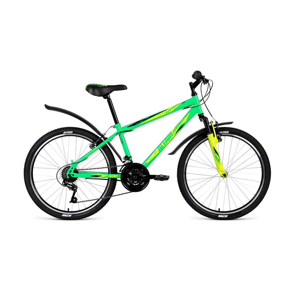 Bicycle ALTAIR MTB HT 24 2.0 disc (24 18 IC. Height 14 ) 2018-2019 цена