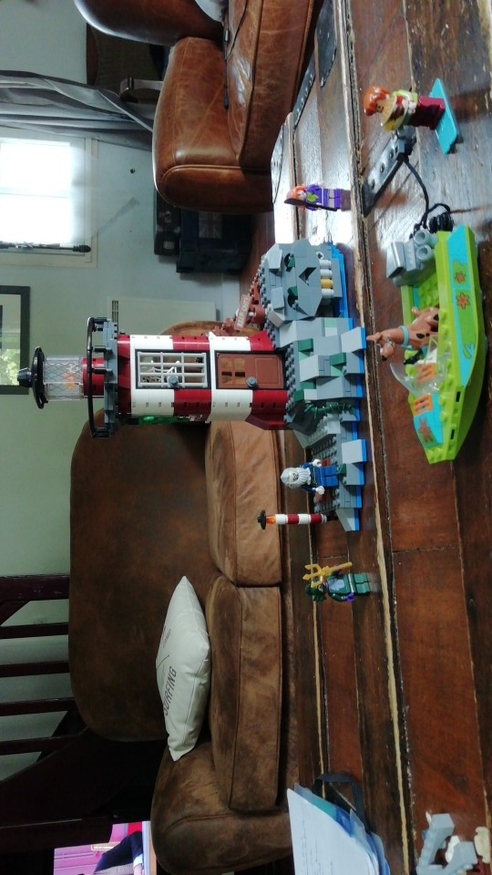 Blocos Legoness Scooby Assombrada