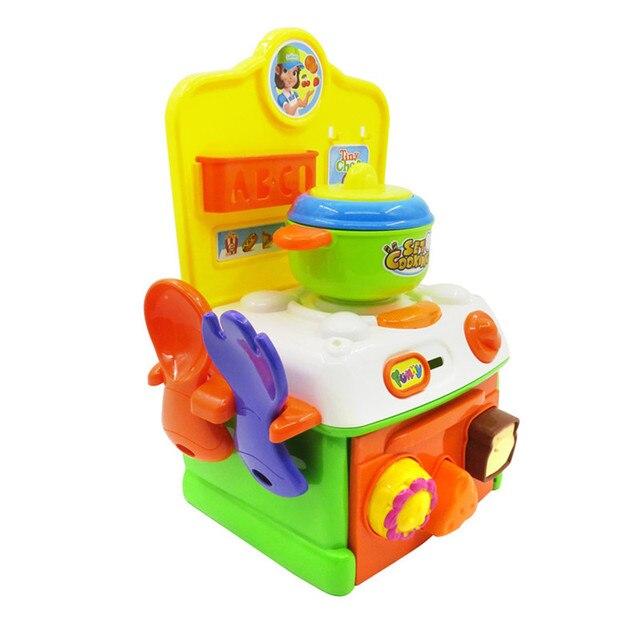 Juegos De Imaginación De Juguetes Para Bebés Super Cute Simulación Cocina  Desayuno Cocina Juguetes Niños Divertido