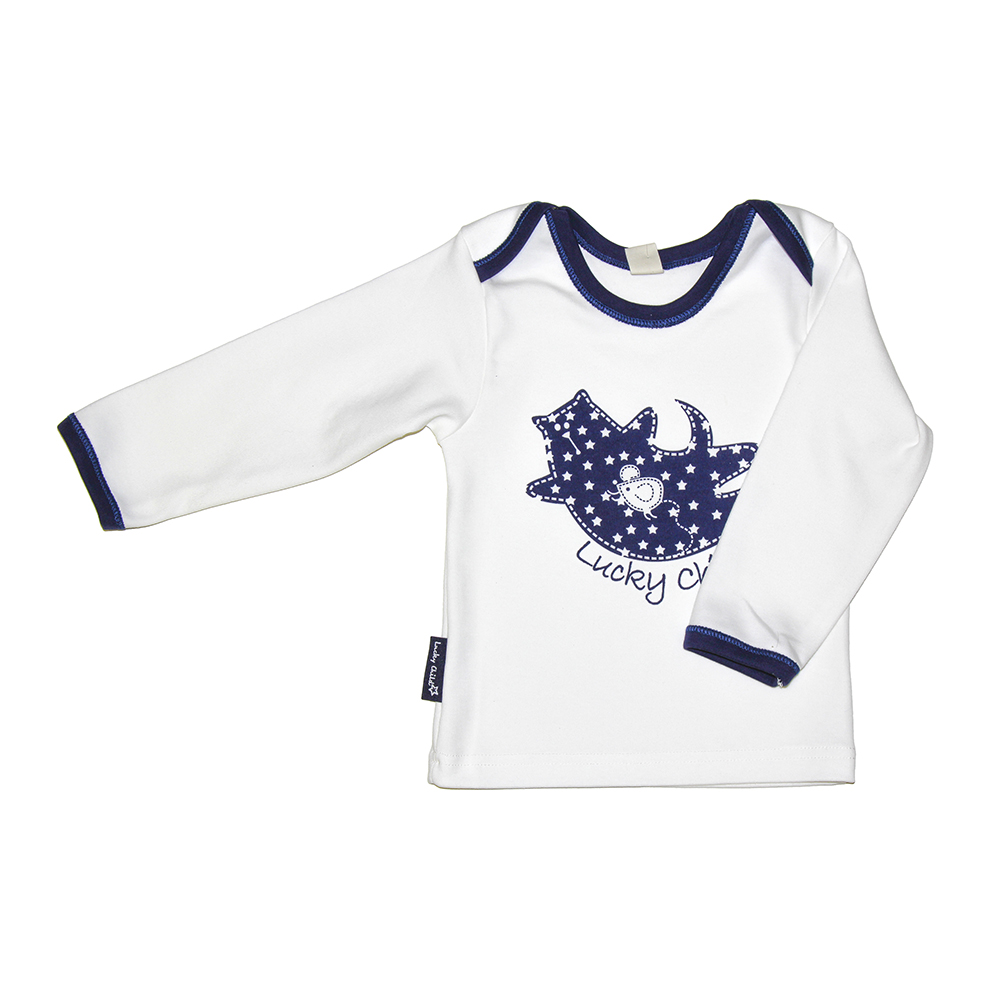 Hoodies &  Sweatshirt Lucky Child for girls and boys 30-166.2   Kids  Children clothes Jersey Blouse kids star and letter print striped blouse