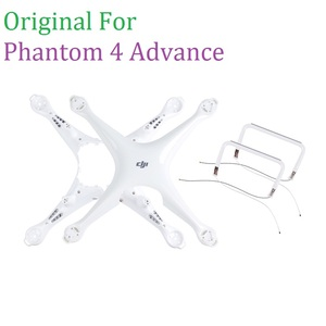 Image 1 - 100% Original DJI Phantom 4 Advance Body Upper Shell Middle Frame Landing Gear For Phontom 4A Housing Repair Parts