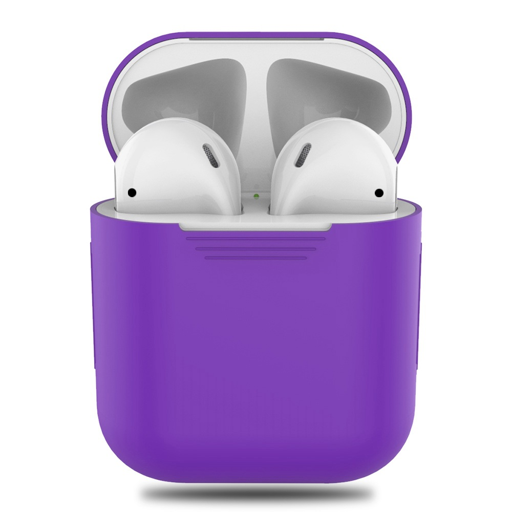 1PCS TPU Silicone Bluetooth Wireless Earphone Case For AirPods Protective Cover Skin Accessories for Apple Airpods Charging Box (12)