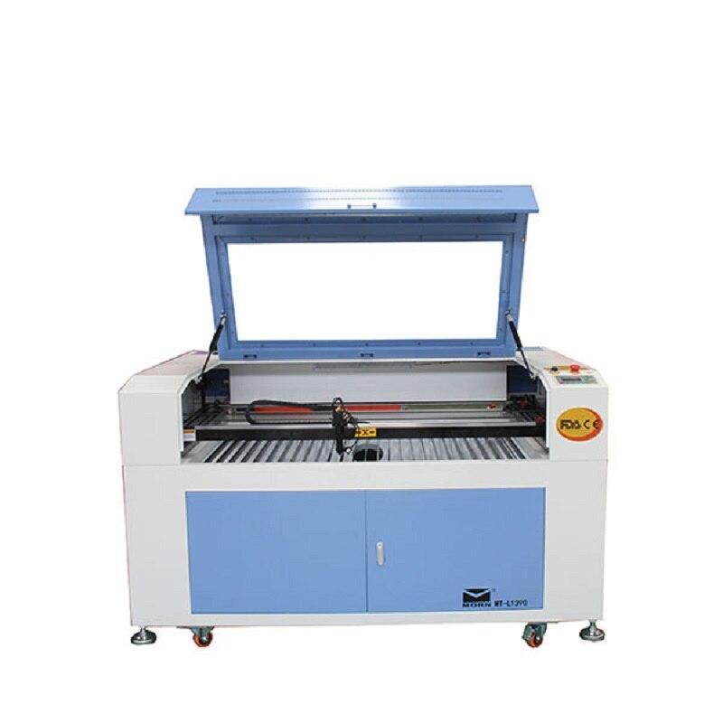 100 Вт Co2 лазерной гравировки, 220 В/100 В лазерный резак для МДФ, Гравировальный машина для кожи