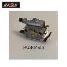 Карбюратор HUS 51/55 REZER для цепной пилы