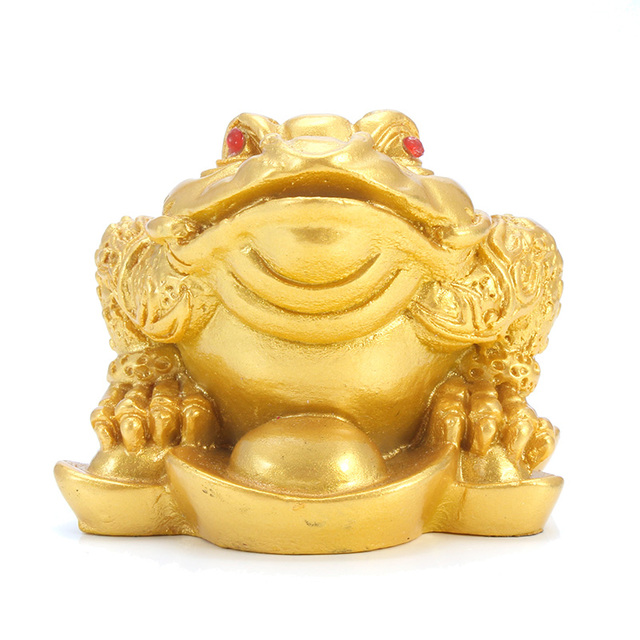 Feng Shui Lucky Money Toad Figurine