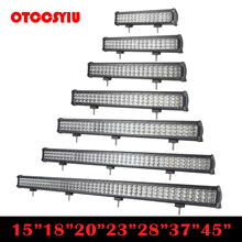 "Cree Chips 15 inch""18 inch""20 inch""23 inch""28 inch""37 inch""45 inch"" LED Head Light Bar Auto Super Brighter Lamp Combe Beam For ATV SUV 4WD 4X4 Boating Hunting"""