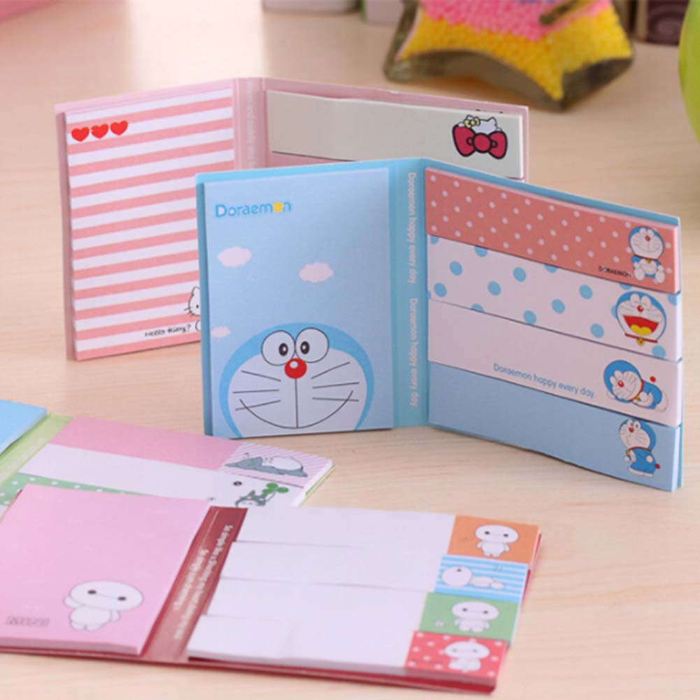 1 Pcs Kawaii Memo Pad Sticky Notes Paper Stickers Bookmark Marker Of Page Stationery School Office Supply