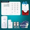 Homsecur беспроводной и проводной 4G/3G/GSM домашняя сигнализация + меню с несколькими языками