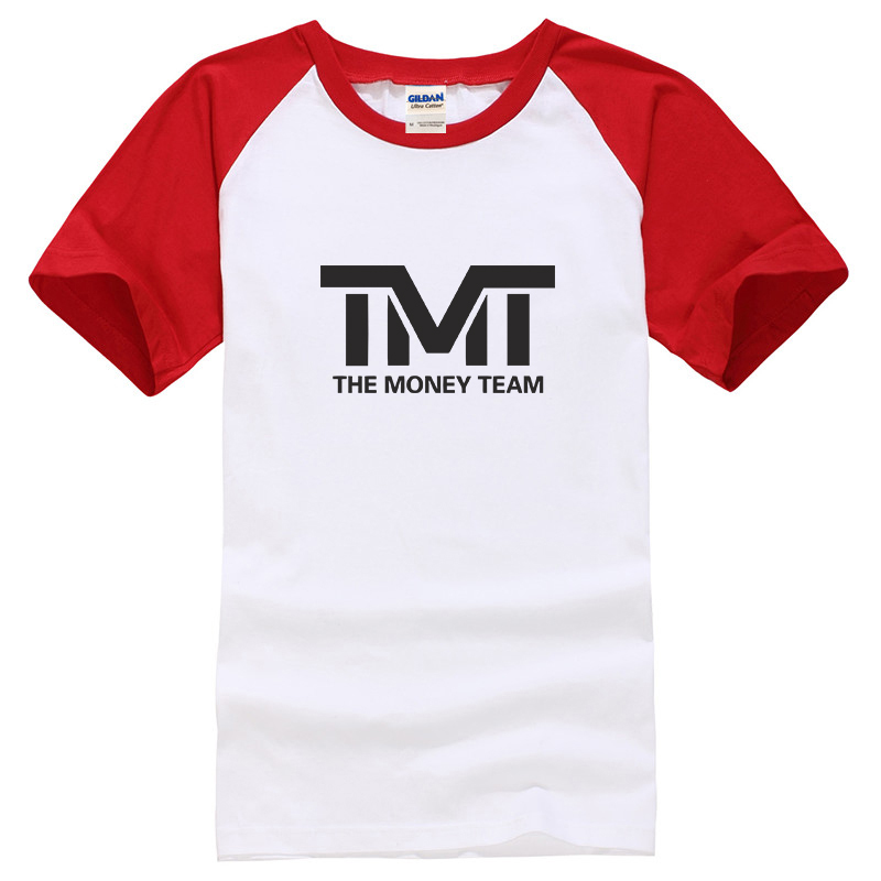T Micheal Printed Big Top Shirt # 107W-Red