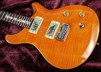 Custom Shop,ps electric guitar,Quality assurance,Transparent orange tiger stripes.Real photos!free shipping!!