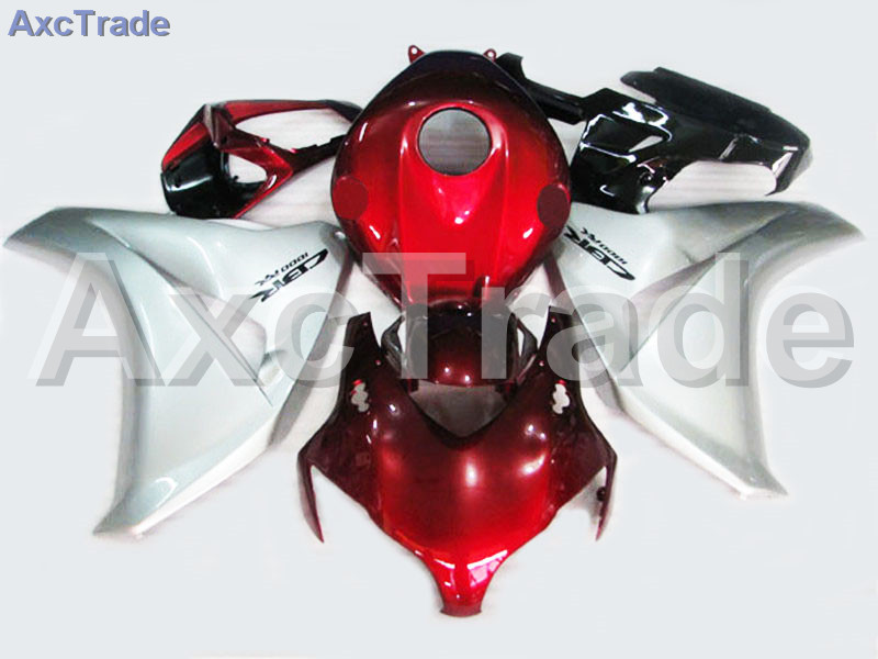 Motorcycle Fairings For Honda CBR1000RR CBR1000 CBR 1000 RR 2008 2009 2010 2011 ABS Plastic Injection Fairing Bodywork Kit Red for honda cbr600rr 2007 2008 2009 2010 2011 2012 motorbike seat cover cbr 600 rr motorcycle red fairing rear sear cowl cover
