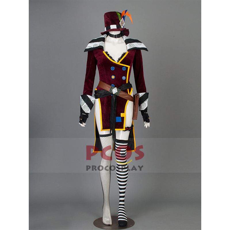 <font><b>Borderlands</b></font> Mad Moxxi Cosplay <font><b>Costume</b></font> Custom mp001677 image