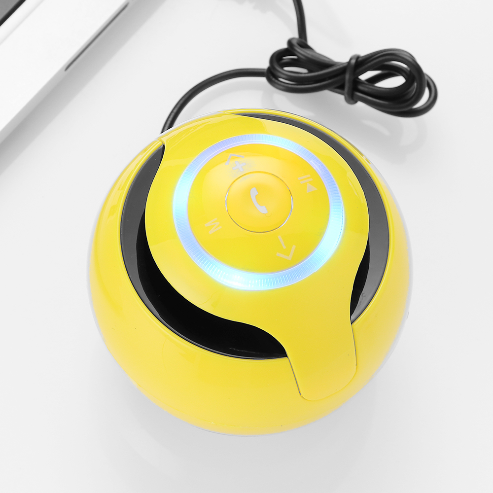 A9 Update Bluetooth Speaker With LED Wireless Stereo Speakers Support TF Card Hands-Free FM MP3 Music Players For Phone