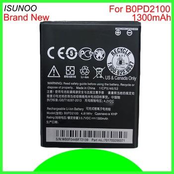ISUNOO 10pcs/lot 1300mAh B0PD2100 BOPD2100 battery for HTC Desire 210 Smartphone Battery