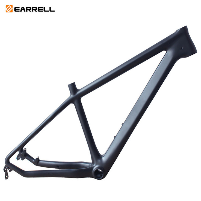 Carbon Fiber Bike Frame >> Aliexpress Com Buy Non Logo Carbon Fiber Mountain Bike Frame Matte Gloss 26er 15 17 Inch Mtb Frame Customizable Coating From Reliable Bicycle