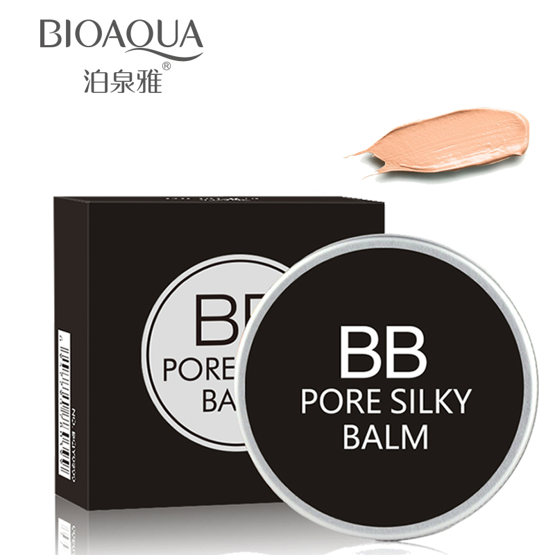100% Original Bb Cream Oil Control Naked Skin Pore Cover Makeup Base Firming And Moisturiser Cream For Face image