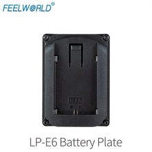 все цены на LP-E6 Battery Plate for Camera Field Monitor Feelworld F570 T7 T756 FW703 FW760 FW759 FW1018S A737 Etc Video Camera Monitor онлайн