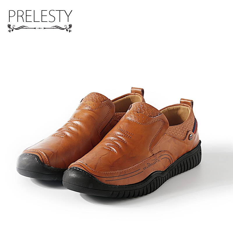 Prelesty Luxury Brand Genuine Leather Men Shoes Winter Work & Safety Shoes Casual Designer Height Increasing ShoesPrelesty Luxury Brand Genuine Leather Men Shoes Winter Work & Safety Shoes Casual Designer Height Increasing Shoes