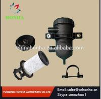 Free shipping 1 pcs/lot Oil Catch Can Pro 200 Turbo Patrol Diesel Prado Hilux PJ 4WD with white fiber or steel filter