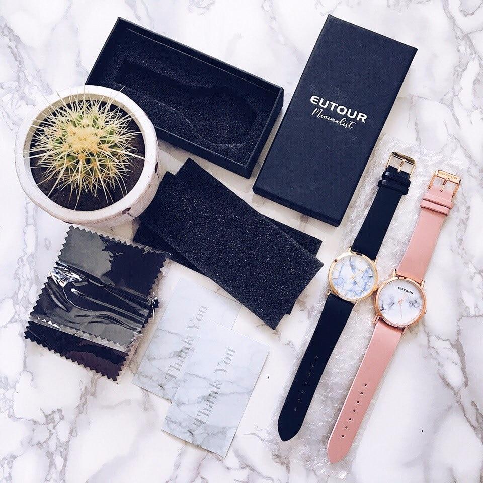 Женские часы с мраморным циферблатом с Алиэкспресс