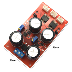 Image 2 - Lusya Dual channel DRV134 unbalanced to balance board use for Balanced input power amplifier board F6 003