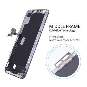 Image 4 - Elekworld sztywne elastyczne OLED AAA jakość testowane działa dobrze LCD dla iPhone XS wyświetlacz LCD 3D ekran dotykowy Digitizer zgromadzenie