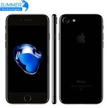 Оригинальное разблокирована Apple iPhone 7 Plus iOS 10 Quad Core Мобильный телефон 3 ГБ Оперативная память 32 ГБ 128 ГБ 256 ГБ Встроенная память 12.0MP LTE Touch ID смартфон