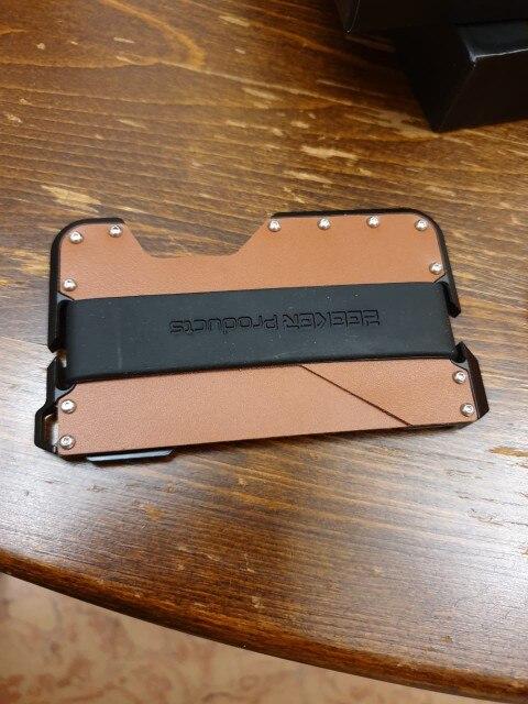 ZEEKER rubberen band voor creditcardhouder ZKMW002 photo review