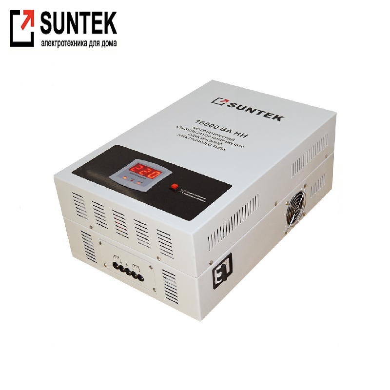 Relay undervoltage stabilizer SUNTEK 16000VA-NN Voltage regulator Automatic voltage regulator Power stab Constant-voltage source generator avr se350 voltage regulator se350 voltage stabilizer voltage governor