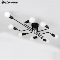 Ceiling Lights Luminaria Led Ceiling Lamp Light For Living Room Personality Industrial Home Lighting Fixture Lamparas