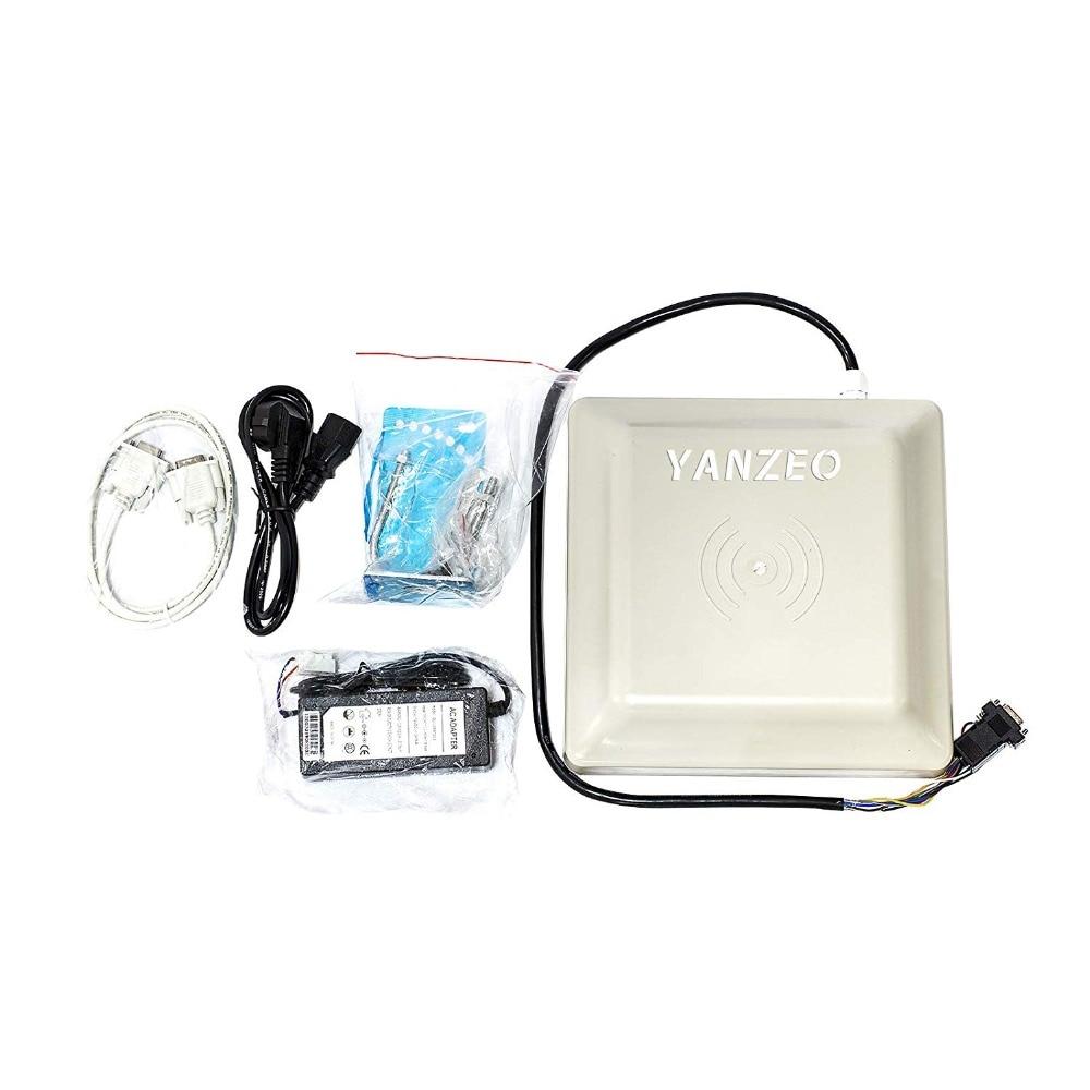SR681 UHF RFID lecteur 6 m longue portée extérieure IP67 8dbi antenne RS232/RS485/Wiegand sortie UHF lecteur intégré