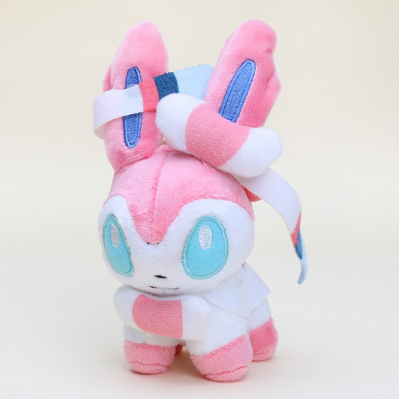 12cm Doll Sylveon Plush Toy Plush Doll Toys Soft Stuffed Toys Animal Dolls Free Shipping12cm Doll Sylveon Plush Toy Plush Doll Toys Soft Stuffed Toys Animal Dolls Free Shipping