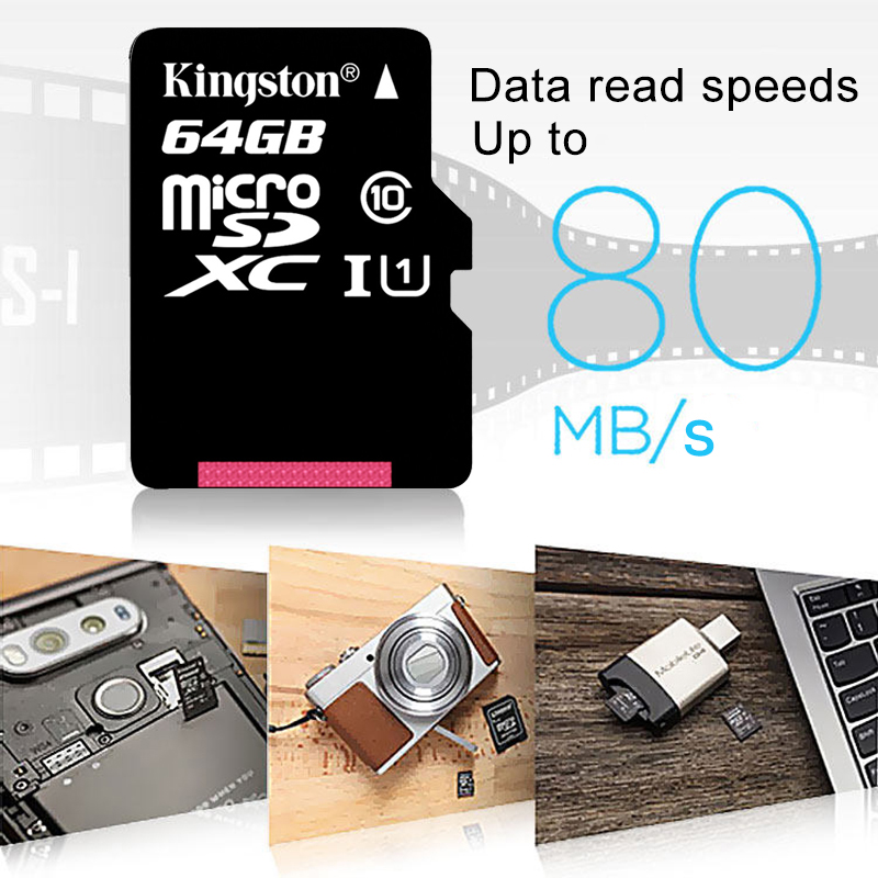Image 4 - Kingston Micro SD Card 64GB 16GB 32GB 128GB microSD Memory Memory Card Class 10 UHS I flash card SD TF Card SDHC SDXC for Tablet-in Micro SD Cards from Computer & Office
