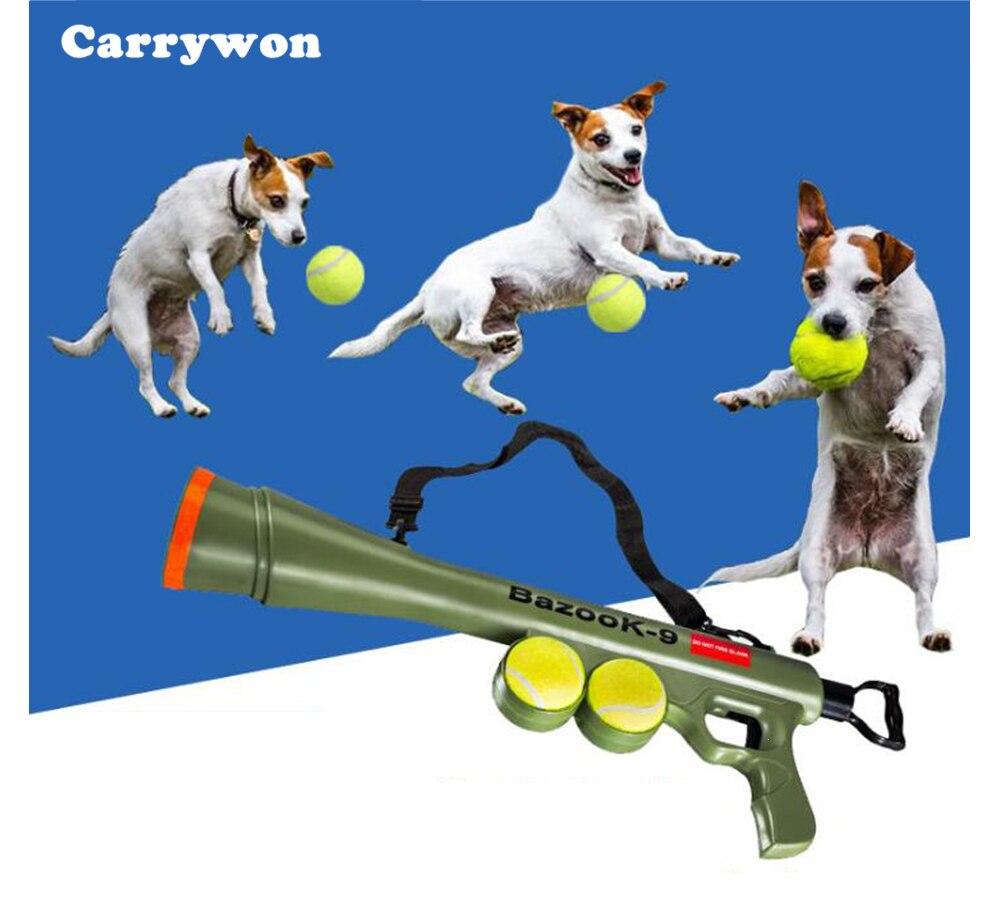 CARRYWON Animal Balle Lanceur Jouet En Plein Air Formation Chien Jouets ABS En Plastique Pet Supplies Interactive Chien Ball Applicable à tous les chiens
