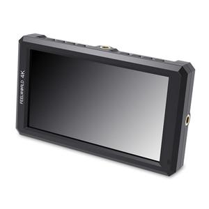 """Image 2 - FEELWORLD F6 5.7 """"na monitorze aparatu DSLR 1920X1080 4K HDMI ustawianie ostrości ostrości ultra cienki z wyjściem mocy ramienia pochylenia"""