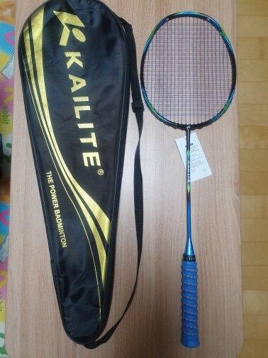 Raquetes de Badminton Pulseira Ultraleve Strung