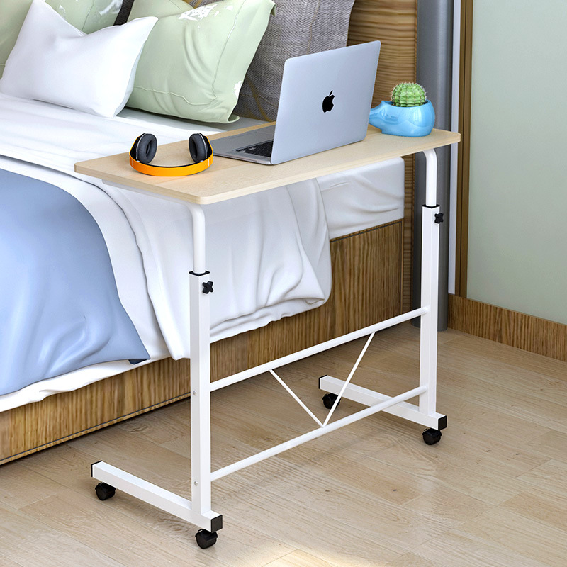 цена simple computer desk laptop table sofa side end table for office coffee table small table movable living room beside bedroom