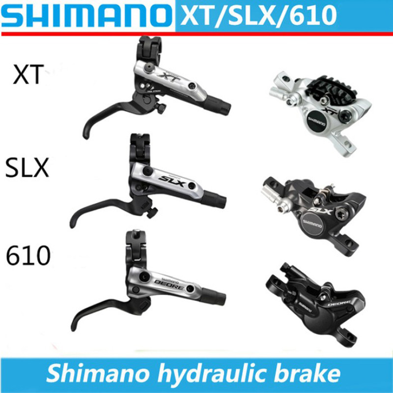 SHIMANO XT/SLX/Deore BL-M8000 / 675/615 MTB Bicycle Mountain Vehicle Hydraulic Disc Brake Bicycle Disc Brake Hydraulic Brake organic disc brake pads set for shimano xtr xt lx hone deore saint slx