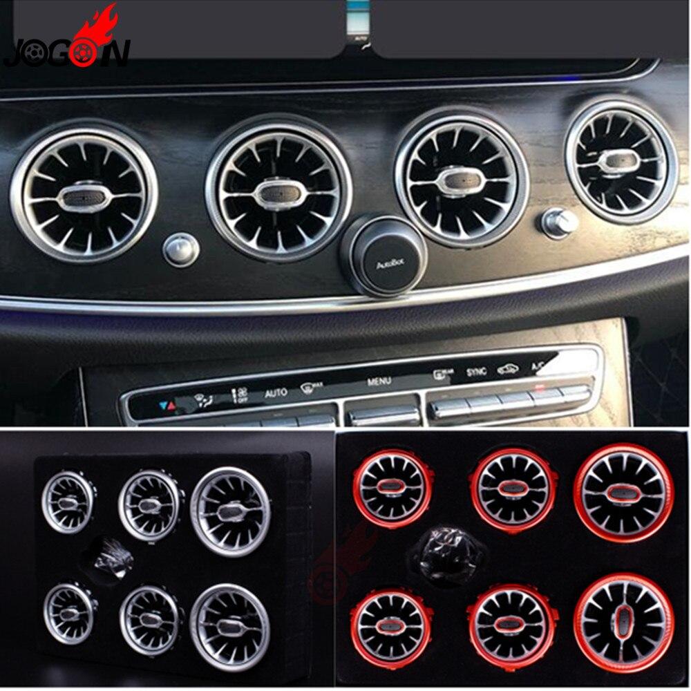 Intérieur avant tableau de bord climatisation sortie de ventilation Turbo garniture pour Mercedes Benz classe E W213 2017 2018 2019 E300 E400 E350