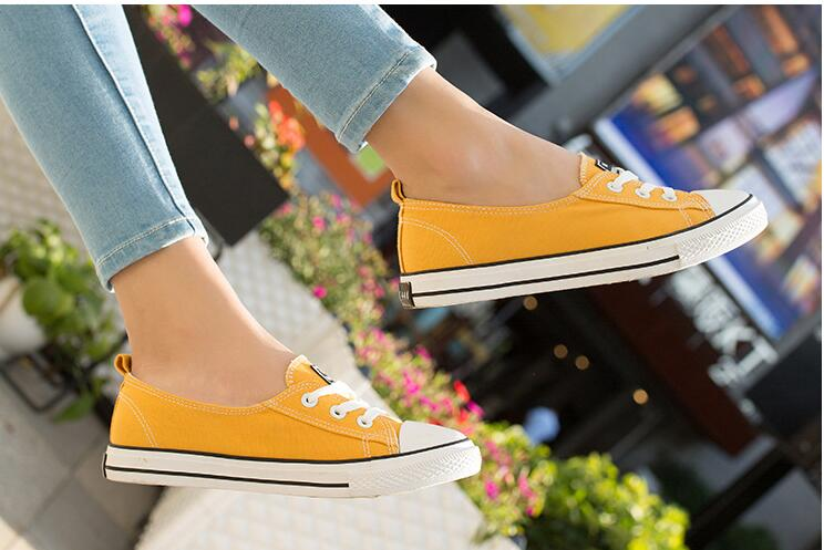 Women shoes 2018 new white canvas shoes female spring summer white casual shoes woman students women Shallow mouth sneakers gogc 2018 new floral denim slipony women breathable shallow shoes footwear flat shoes women fashion sneakers women summer spring