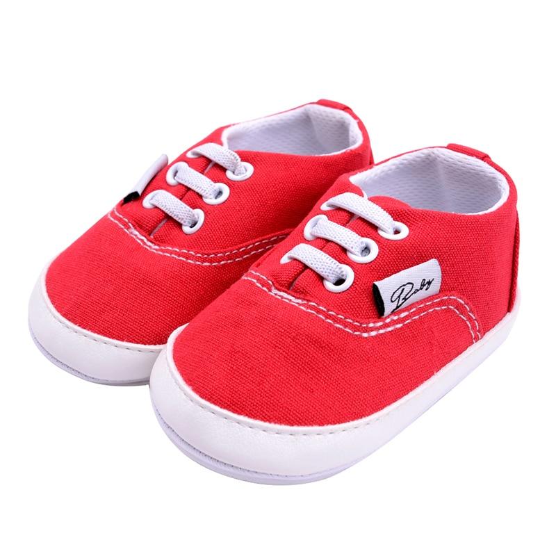 0-18month Neugeborenen Baby Mädchen Jungen Weiche Sohle Kleinkind Infant Sneaker Prewalker Schuhe Gesundheit Effektiv StäRken